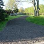 Gravel Paving for Barb's driveway in Norton Shores.